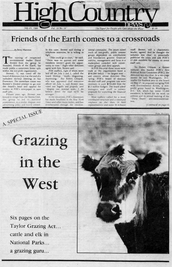 Grazing in the West archived issue