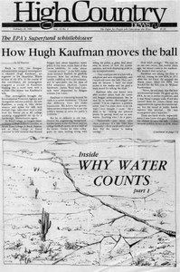 How Hugh Kaufman moves the ball