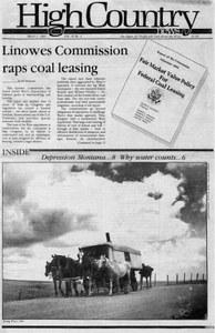 Linowes Commission raps coal leasing