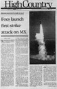 Foes launch first-strike attack on MX