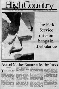The Park Service mission hangs in the balance