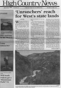 'Unranchers' reach for West's state lands