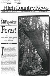 The Millworker and the Forest