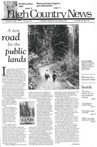 A new road for the public lands