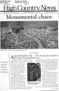 Monumental chaos