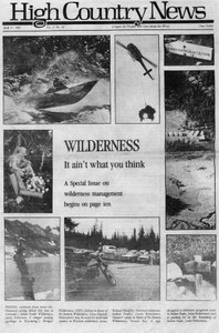 Wilderness: It ain't what you think