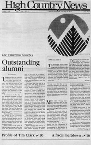 The Wilderness Society's outstanding alumni