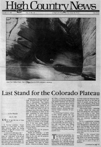 Last stand for the Colorado Plateau