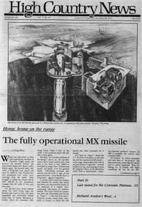 The fully operational MX missile