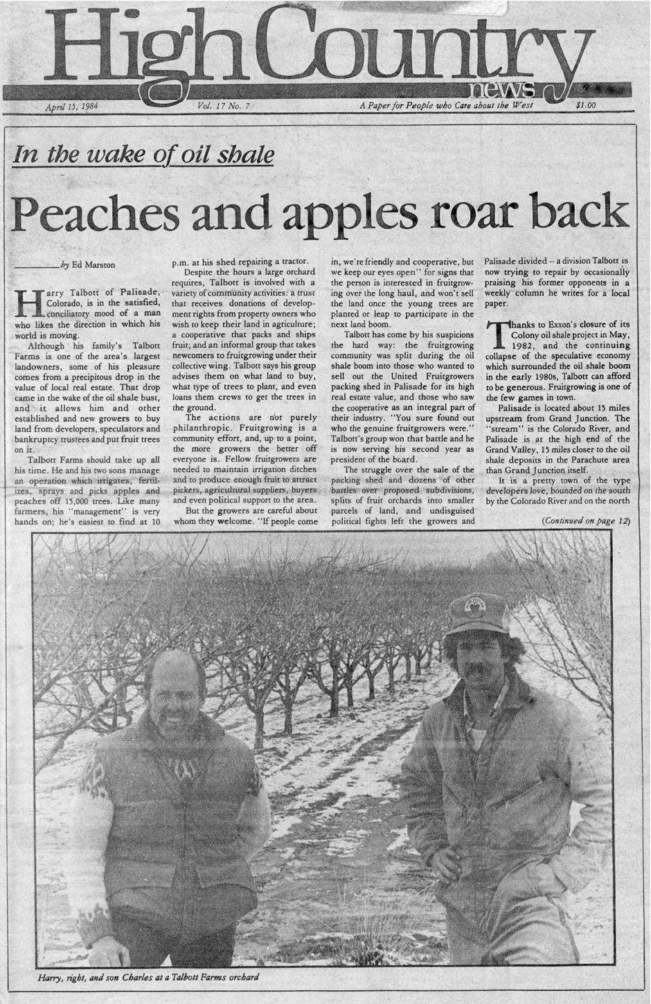 Peaches and apples roar back
