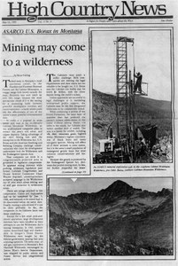 Mining may come to a wilderness