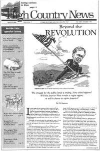 Beyond the Revolution