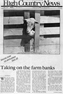Taking on the farm banks
