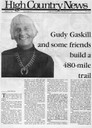 Gudy Gaskill and some friends build a 480-mile trail