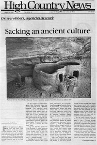 Graverobbers, agencies at work sacking an ancient culture
