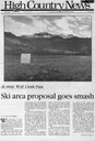 Ski area proposal goes smash