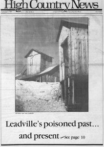 Leadville's poisoned past ... and present