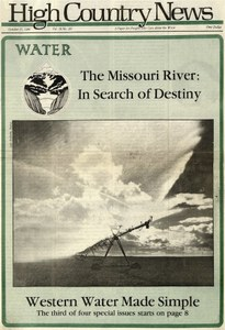 The Missouri River: In Search of Destiny