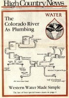 The Colorado River as plumbing