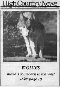 Wolves make a comeback in the West