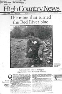 The mine that turned the Red River blue