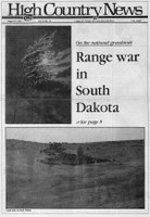 Range war in South Dakota
