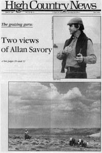 Two views of Allan Savory