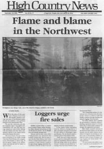 Flame and blame in the Northwest