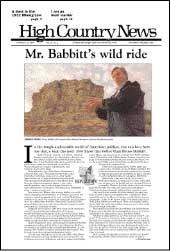 Mr. Babbitt's wild ride