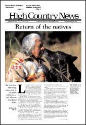 Return of the natives