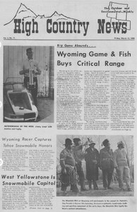 Wyoming game and fish buys critical range high country news for Wyoming fish and game