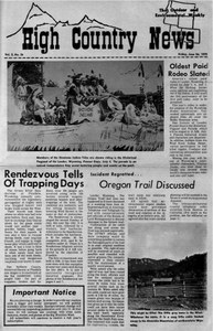 Rendezvous tells of trapping days