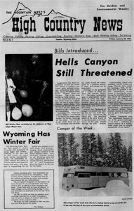 Hells Canyon still threatened