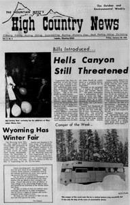 Hells Canyon still threatened