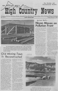 Nixon moves on pollution front