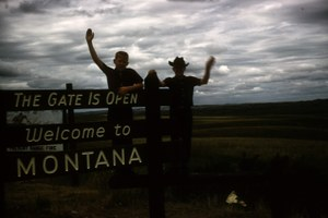 Montana town puts out unwelcome mat