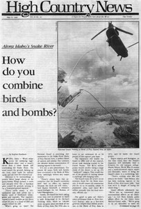 How do you combine birds and bombs?