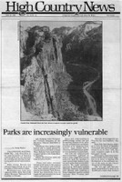 Parks are increasingly vulnerable