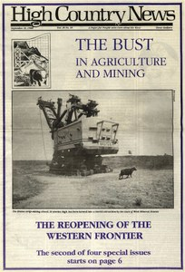 The bust in agriculture and mining