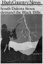 South Dakota Sioux demand the Black Hills