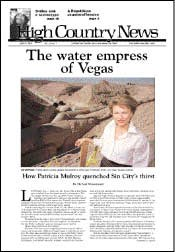 The water empress of Vegas