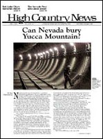 Can Nevada bury Yucca Mountain?