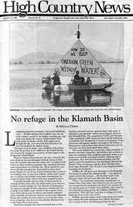 No refuge in the Klamath Basin