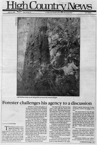 Forester challenges his agency to a discussion