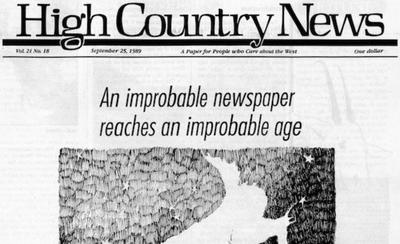 Saga of a High Country Newsman