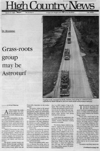 In Montana: Grass-roots group may be Astroturf