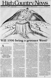Will 1990 bring a greener West?
