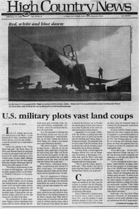 U.S. military plots vast land coups