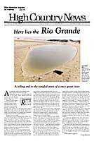 Here lies the Rio Grande