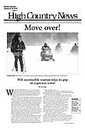 Move over! Will snowmobile tourism relax its grip on a gateway town?